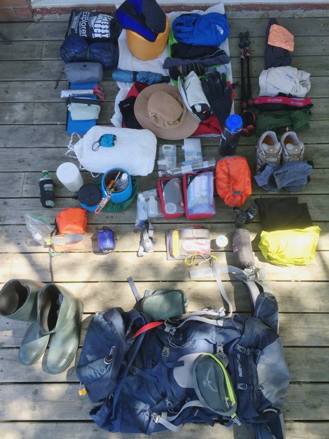 pack and gear photo