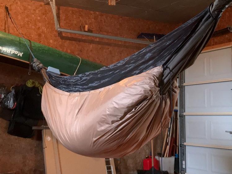 underquilt for hammock